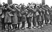 British 55th Division gas casualties, 10 April 1918 World War I