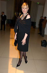 AMY SACCO at a Burns Night dinner in aid of CLIC Sargent and Children's Hospice Association Scotland held at St.Martin's Lane Hotel, St.Martin's Lane, London on 25th January 2007.<br />