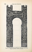 Viking Architecture Decorated halls and carved doorways from the book ' The viking age: the early history, manners, and customs of the ancestors of the English-speaking nations ' Volume 2 by Du Chaillu, Paul B. (Paul Belloni), Published in New York by  C. Scribner's sons in 1890