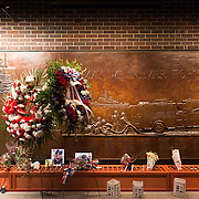 Memorial Wall of the FDNY firefighters