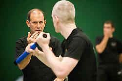 Eyal Yanilov, the Chief Instructor of Krav Maga Global, takes the Krav Maga Global Instructors Further Education & Training - October 2012. .©Michael Schofield.