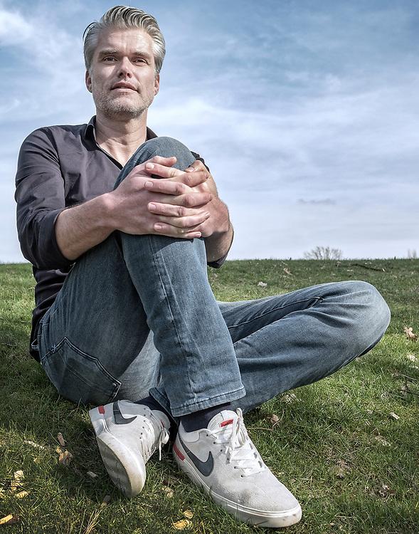 Netherlands. Arnhem, 14-03-2017. Photo: Patrick Post. Portret van Vincent Luyendijk nieuwe Algemeen Directeur KNWU