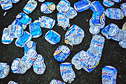 May 24, 2012: NASCAR Nationwide History 300, beer cans , Jamey Price / Getty Images 2012 (NOT AVAILABLE FOR EDITORIAL OR COMMERCIAL USE