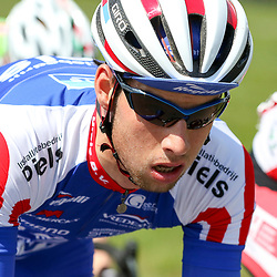 02-05-2015: Wielrennen: Ronde van Overijssel mannen: Rijssen  RIJSSEN (NED) wielrennen:  De 63e ronde van Overijssel heeft als zwaarte punt de heuveltjes rond Ootmarsum en de Sallandse heuvelrug. Net als in de ronde van Vlaanderen kent men in Overijssel het dorp van de ronde. In 2015 is de eer aan Markelo. Joey vnsa Rhee (Nijverdal) was zeer actief in de koers