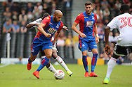 Crystal Palace attacker, Andros Townsend dribbling during the Pre-Season Friendly match between Fulham and Crystal Palace at Craven Cottage, London, England on 30 July 2016. Photo by Matthew Redman.