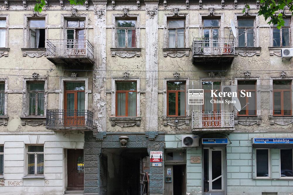 Old building, Tbilisi, Georgia