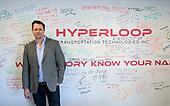 Dirk Ahlborn of Hyperloop Transportation Technologies.