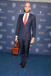 The Johnnie Walker Blue Label and David Gandy Drinks Reception aboard John Walker & Sons Voyager, St.Georges Stairs Tier, Butler's Wharf Pier, London, UK on 16th July 2013.<br /> Picture Shows:-Drummond Money-Coutts.