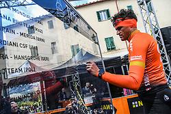 March 15, 2019 - Pomarance, Pisa, Italia - Foto Gian Mattia D'Alberto / LaPresse.15/03/2019 Pomarance (Italia) .Sport Ciclismo.Tirreno-Adriatico 2019 - edizione 54 - da Pomarance a Foligno  (226 km) .Nella foto: Greg Van Avermaet BEL..Photo Gian Mattia D'Alberto / LaPresse .March 15, 2018 Pomarance (Italy).Sport Cycling.Tirreno-Adriatico 2019 - edition 54 - Pomarance to Foligno (140 miglia) .In the pic:Greg Van Avermaet BEL (Credit Image: © Gian Mattia D'Alberto/Lapresse via ZUMA Press)