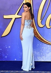 Naomi Scott attending the Aladdin European Premiere held at the ODEON Luxe Leicester Square, London