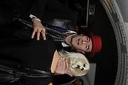 PHIL DIRTBOX; ELLIS FLYTE, The 2011 Groucho Club Maverick Award. The Groucho Club. Soho, London. 14 November 2011. <br /> <br />  , -DO NOT ARCHIVE-© Copyright Photograph by Dafydd Jones. 248 Clapham Rd. London SW9 0PZ. Tel 0207 820 0771. www.dafjones.com.