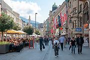 Austria, Innsbruck Maria Teresien Strasse
