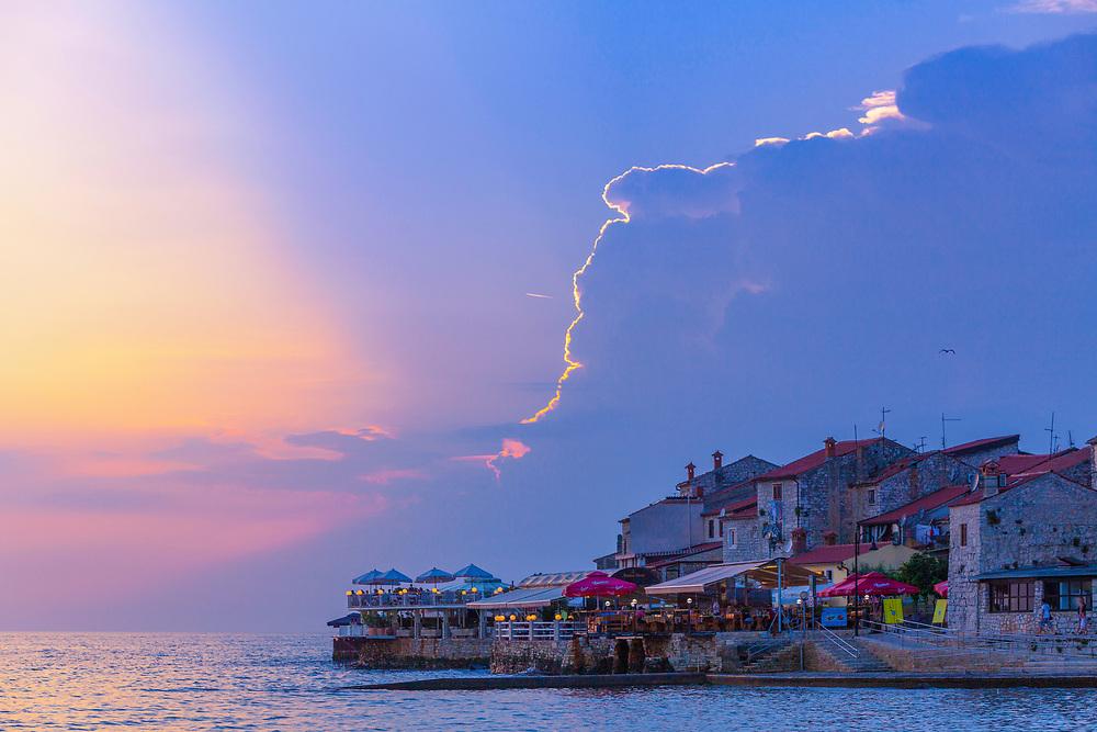 Sea side pubs and restarants in Croatia.