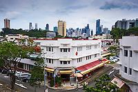 Singapour, le quartier Art Deco de Tiong Bahru  // Singapore, Art Deco district of Tiong Bahru
