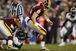 27 December 2003: The Philadelphia Eagles defeated the Washington Redskins 31-7 at FedEx Field in Landover, MD.<br /><br />Mandatory Credit: Drew Hallowell
