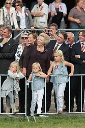 Queen Beatrix visiting Breda Hippique with Princesses Amalia and Ariana<br /> Breda Hippique 2010<br /> © Dirk Caremans