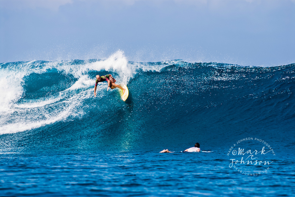 Surfing in the Mentawai Islands, Indonesia ****Model Release available ***Model Release available