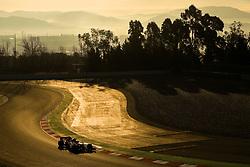 Mercedes Valtteri Bottas during day one of pre-season testing at the Circuit de Barcelona-Catalunya.