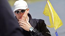 Ian Williams, Team GAC Pindar. St Moritz Match Race 2010. World Match Racing Tour. St Moritz, Switzerland. 2nd September 2010. Photo: Ian Roman/WMRT.