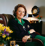 Fraces Hesselbein, Chariman and Founding President of the Drucker Foundation and former CEO of the Girl Scouts of America.