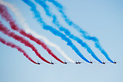 June 13-18, 2017. 24 hours of Le Mans. French air force fly over