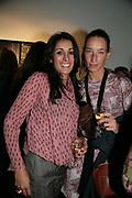 SERENA  REES AND SARA MURRAY, Helmut Newton XL. Hamiltons. Carlos Place. London. 25 September 2007. -DO NOT ARCHIVE-© Copyright Photograph by Dafydd Jones. 248 Clapham Rd. London SW9 0PZ. Tel 0207 820 0771. www.dafjones.com.