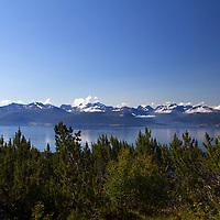 Europe, Norway, Molde. View from Varden Overlook, Molde.