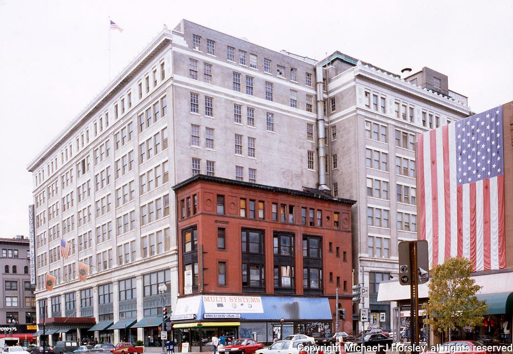 10th Street and F NW Washington DC, 1994