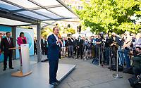 Erfurt, 03.09.2021: Wahlkampfveranstaltung der CDU mit Armin Laschet, Kanzlerkandidat und CDU-Bundesvorsitzender, auf dem Anger in Erfurt.