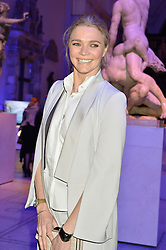 JODIE KIDD at a private view of Alexander McQueen's Savage Beauty exhibition hosted by Samsung BlueHouse at the V&A, London on 30th March 2015.