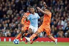 Manchester City v Lyon 19 Sep 2018