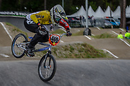 #469 (HERNANDEZ Stefany) VEN during round 3 of the 2017 UCI BMX  Supercross World Cup in Zolder, Belgium,