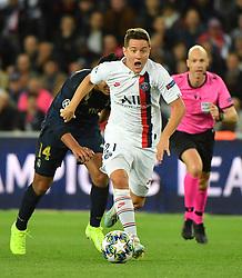 during the UEFA Champions League Paris Saint-Germain v Real Madrid at the Parc des Princes stadium on September 18, 2019 in Paris, France. PSG won 3-0. Photo by Christian Liewig/ABACAPRESS.COM