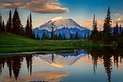 Mount Rainier from Tipsoo Lake