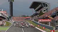 MOTORSPORT - F1 2013 - GRAND PRIX OF SPAIN / GRAND PRIX D'ESPAGNE - BARCELONA (ESP) - 10 TO 12/05/2013 - PHOTO : JEAN MICHEL LE MEUR / DPPI - START