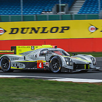 #4,  ByKolles Racing Team, ENSO CLM P1/01-Nismo, LMP1, driven by: Oliver Webb, Rene Binder at FIA WEC Silverstone 6h, 2018 on 17.08.2018