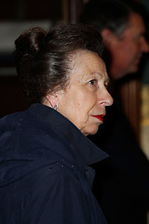 The Princess Royal arrives for the annual Royal British Legion Festival of Remembrance at the Royal Albert Hall in London, which commemorates and honours all those who have lost their lives in conflicts.