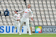 Simon Harmer of Essex bowling during the first day of the Specsavers County Champ Div 1 match between Hampshire County Cricket Club and Essex County Cricket Club at the Ageas Bowl, Southampton, United Kingdom on 5 April 2019.
