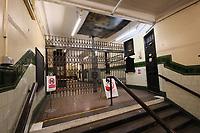 Hidden London: Aldwych Disused Underground Station, London, UK, 18 October 2019, Photo by Richard Goldschmidt