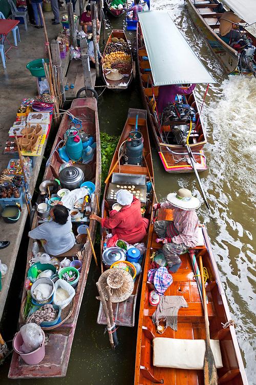 Damnoen Saduak Floating Market, Thailand, SE Asia