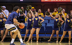 Dec 1, 2019; Morgantown, WV, USA; The West Virginia Mountaineers dance team performs before their game against the Rhode Island Rams at WVU Coliseum. Mandatory Credit: Ben Queen-USA TODAY Sports