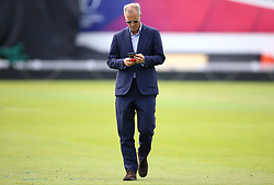 England's chief national cricket selector Ed Smith during a training session at The Oval, London.