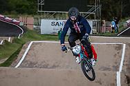 #64 (LONG Nicholas) USA at the 2016 UCI BMX Supercross World Cup in Santiago del Estero, Argentina