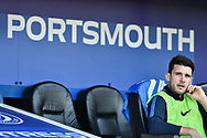 Portsmouth Midfielder, Gareth Evans (26) during the EFL Sky Bet League 1 match between Portsmouth and Barnsley at Fratton Park, Portsmouth, England on 23 February 2019.