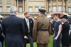 The Duke of Sussex during a Royal Garden Party at Buckingham Palace in London.