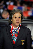 FOOTBALL - CHAMPIONS LEAGUE 2010/2011 - GROUP STAGE - GROUP B - OLYMPIQUE LYONNAIS v SL BENFICA - 20/10/2010 - PHOTO JEAN MARIE HERVIO / DPPI - JORGE JESUS (BENFICA COACH)