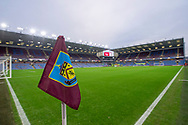 A general view inside Turf Moor prior to during the The FA Cup 3rd round match between Burnley and Barnsley at Turf Moor, Burnley, England on 5 January 2019.