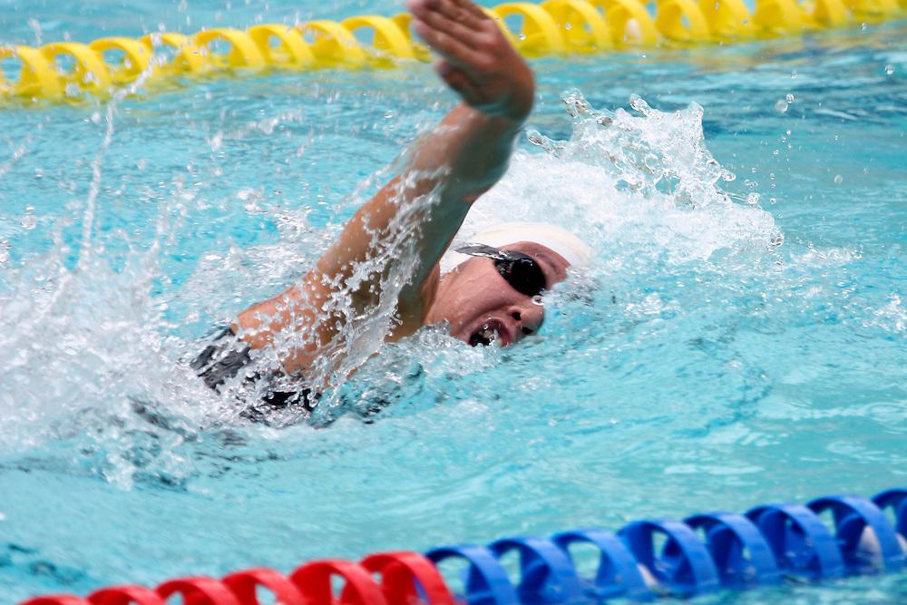 Belo Horizonte_MG, Brasil...Nadadora na eliminatoria mundial de natacao 2006. ..A swimmer in the World Swimming 2006...Foto: LEO DRUMOND / NITRO