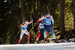 Aita Gasparin (SUI) during the Women 15 km Individual Competition at day 2 of IBU Biathlon World Cup 2019/20 Pokljuka, on January 23, 2020 in Rudno polje, Pokljuka, Pokljuka, Slovenia. Photo by Peter Podobnik / Sportida