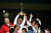 Das Team von Porto Alegre jubelt mit dem Pokal (SWITZERLAND ONLY) © Enrico Calderoni/Aflo/EQ Images